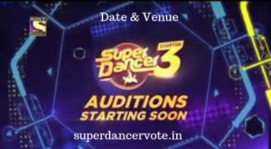 Super Dancer 3 Audition