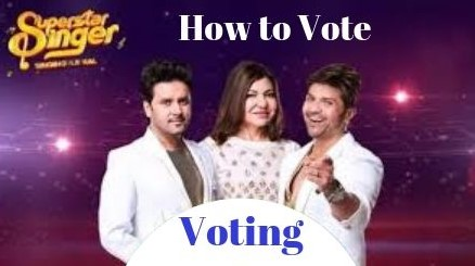 Superstar singer Voting