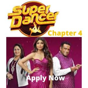 Super Dancer 4 Audition