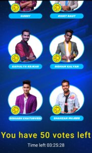 Indian Idol Voting