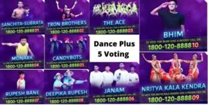 Dance Plus Voting