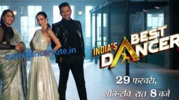 India's Best Dancer Judges