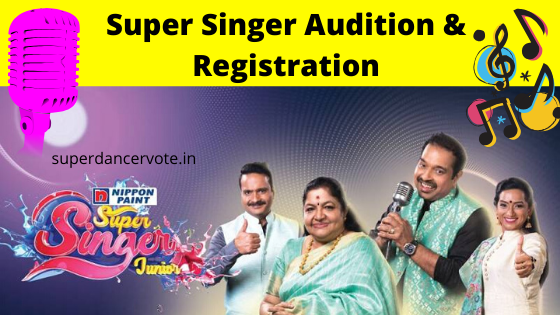 super singer audition